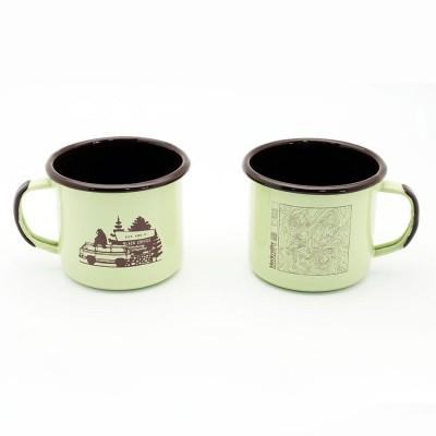Enameled Steel Mugs