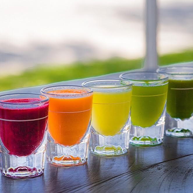 Cold Pressed Juice Shots