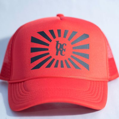 Sun flag trucker hat