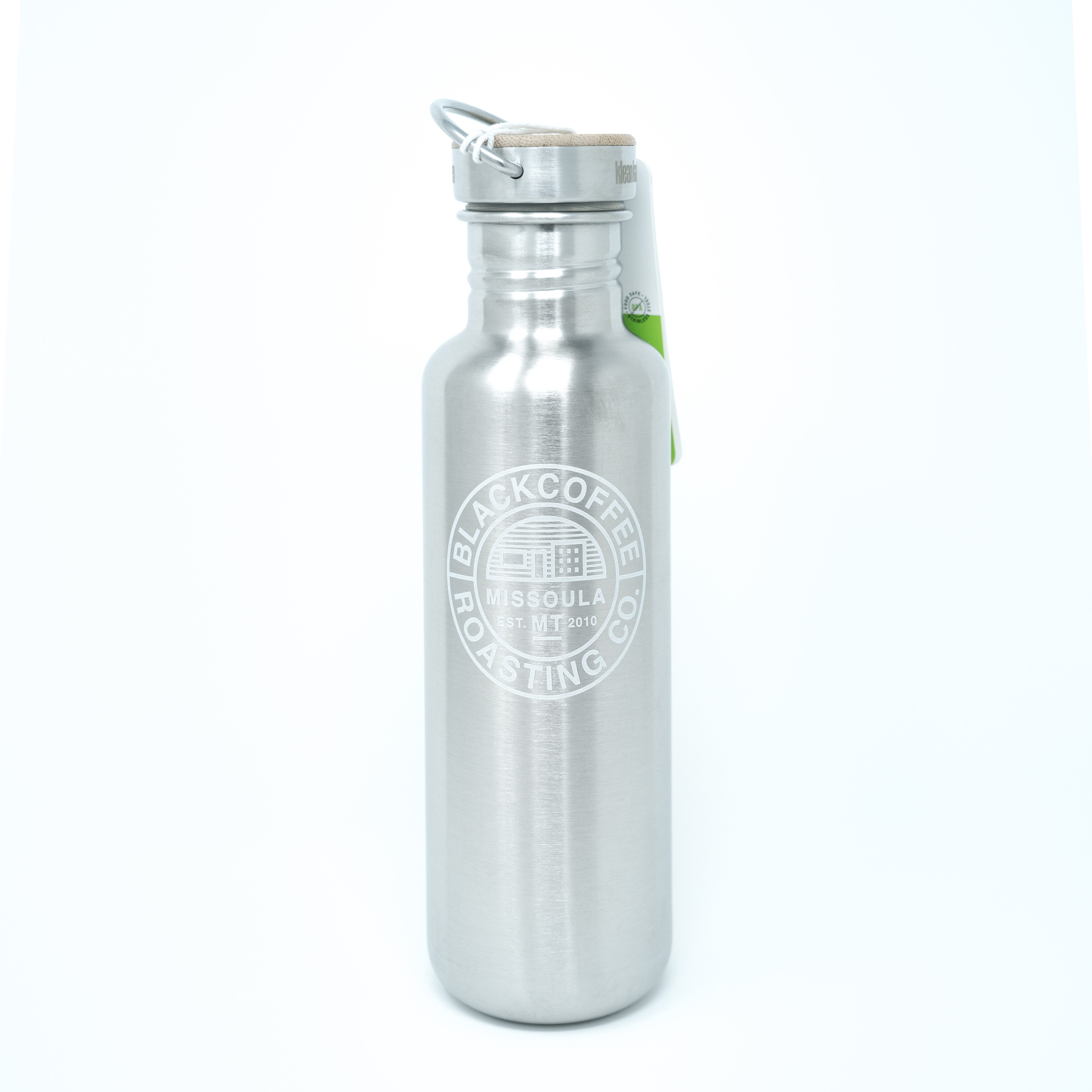08e4f528282cb Stainless Steel Bottle by Klean Kanteen - Black Coffee Roasting Company